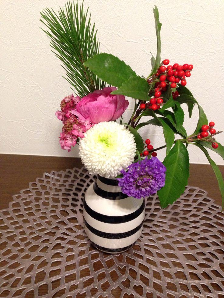 2015年お正月のお花