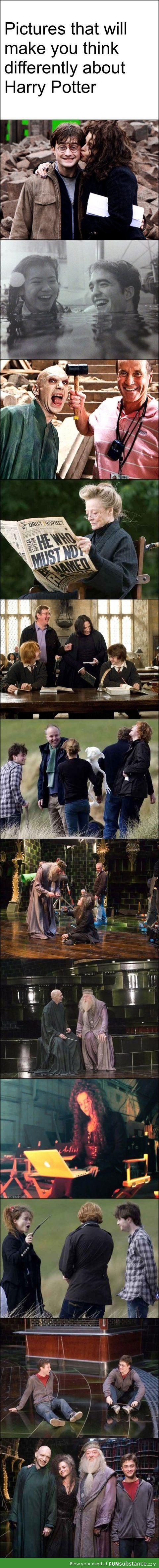 Ce que vous n'avez jamais vu d'Harry Potter