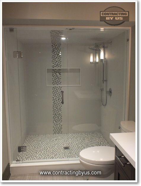 http://www.contractingbyus.com/portfolio/bathrooms/#612 #finishedbasement #interiors #interiordesign #makeover #space #renovation #bathroom #shower #tiles #ensuite #masterbathroom #design #designtrends #trends #niche www.contractingbyus.com