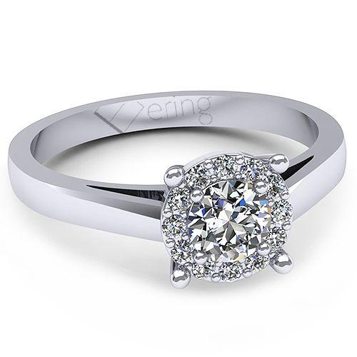 Inel logodna L138ADI cu diamante