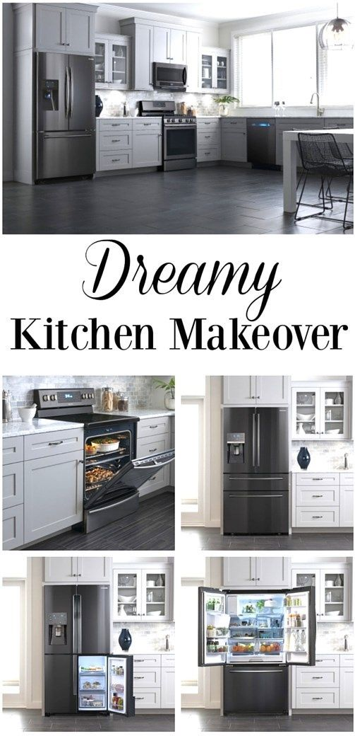 Tips for a Dreamy Kitchen Makeover at essentiallyerika.com - Enter Appliance Giftcard Giveaway! #ad