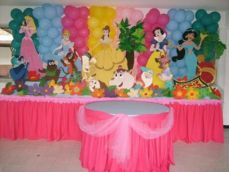 Princess Birthday Parties Party Decorations Tangled Themes Disney 4th