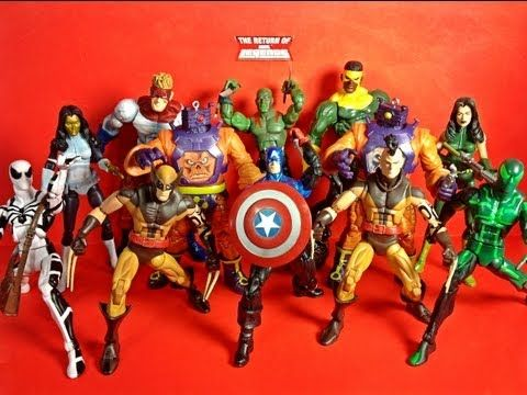 GIJoe ACBA & Marvel Legends Arnim Zola Wave Two Overview!