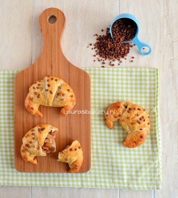 Appel-kaneel croissants - Laura's Bakery