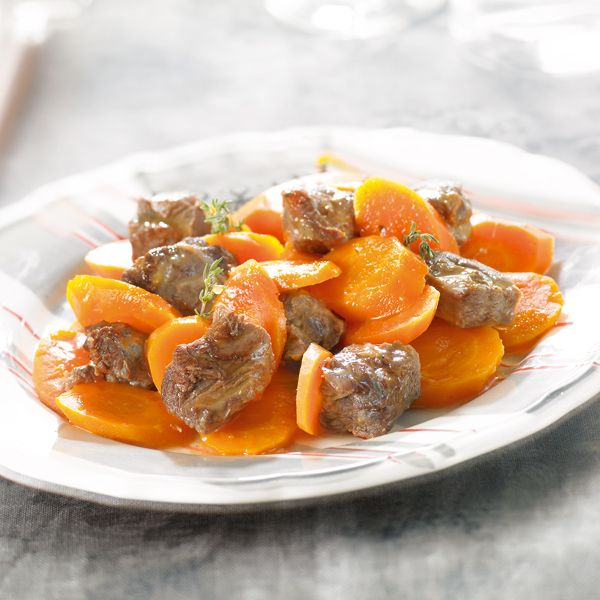 WeightWatchers.fr : recette Weight Watchers - Bœuf braisé aux carottes
