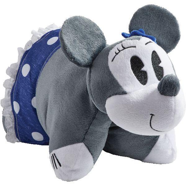 Disney Denim Minnie Mouse Pillow Pet Animal Pillows Plush Pets