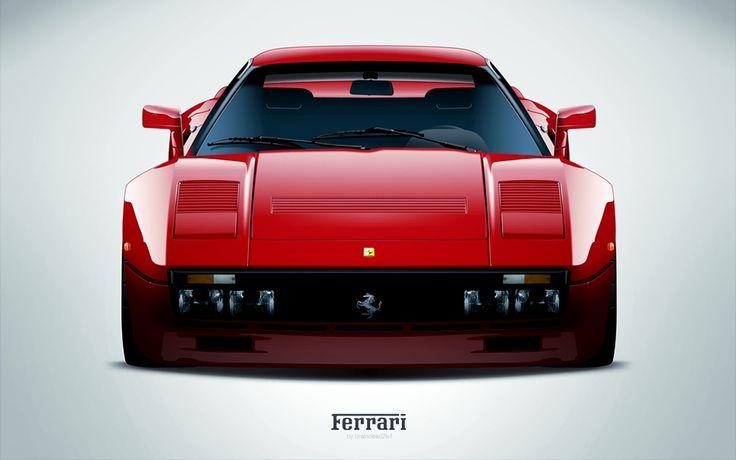 I'm falling in love all over again. Ferrari 288 GTO