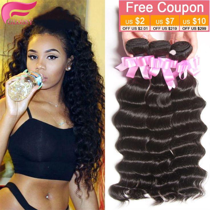 Brazilian Loose Deep Wave Tissage Bresilienne lots 4 Bundles Brazilain Virgin Hair Ocean Wave Deep Wave Brazilian Cheap Bundles