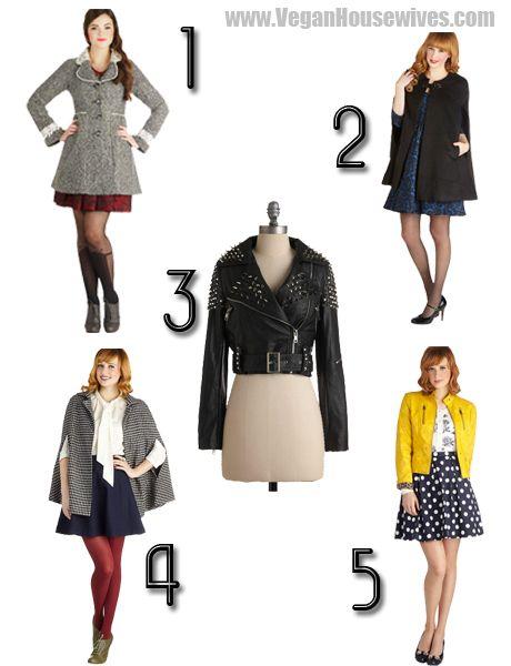 Vegan Fashion | Our Top 10 Vegan Jacket   Coat Picks from ModCloth
