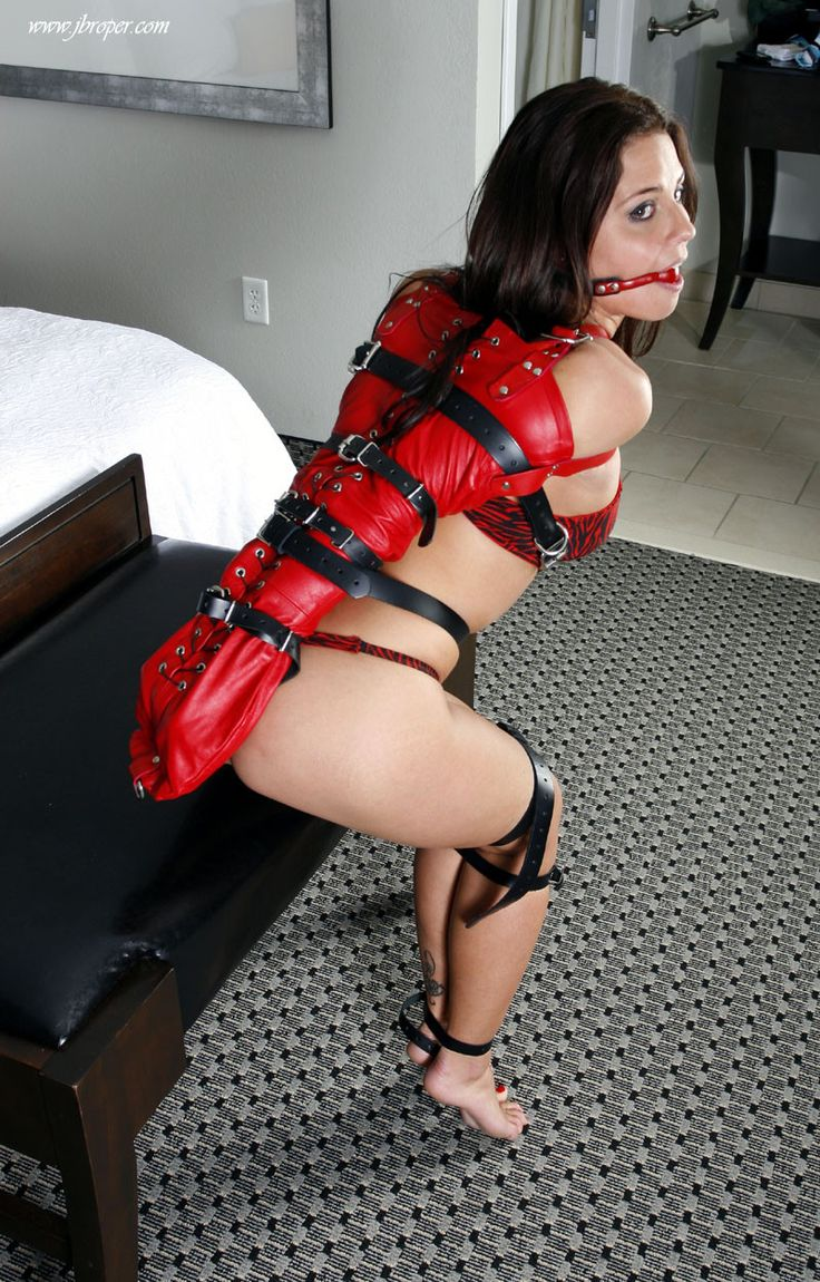 bondage girl  Find this Pin and more on Bondage.