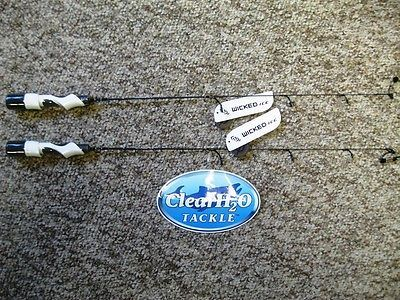 Ice Fishing Rods 179947: 2Pk 13 Fishing New Wicked Ice Fishing Rod 28 Medium Nw-28M -> BUY IT NOW ONLY: $59.99 on eBay!