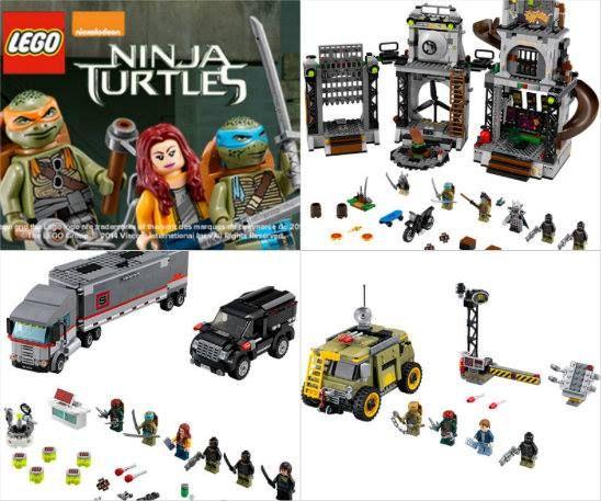 """3 ensembles de jeu Lego """"Tortue Ninja"""" à gagner - Quebec echantillons gratuits"""