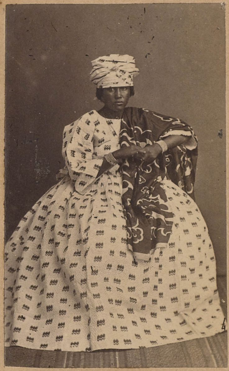 Surinaamse vrouw in kotomissie