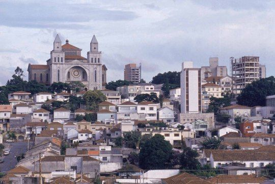 Nossa Senhora da Penha Basilica, on the east side.