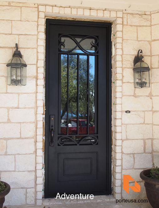 44 best Wrought Iron Doors images on Pinterest | Wrought iron ...