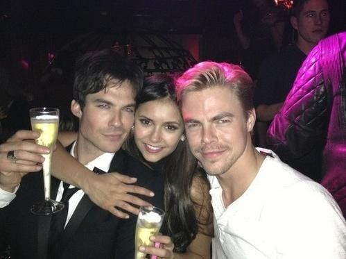 Nina Dobrev: 'Vampire Diaries' Actress Spotted Getting Cozy with Derek Hough -- Dating or Just Good Friends? [PHOTOS AND VIDEO] - Entertainment & Stars http://au.ibtimes.com/articles/508019/20130923/nina-dobrev-vampire-diaries-actress-spotted-getting.htm#.UkC0dieRK9g
