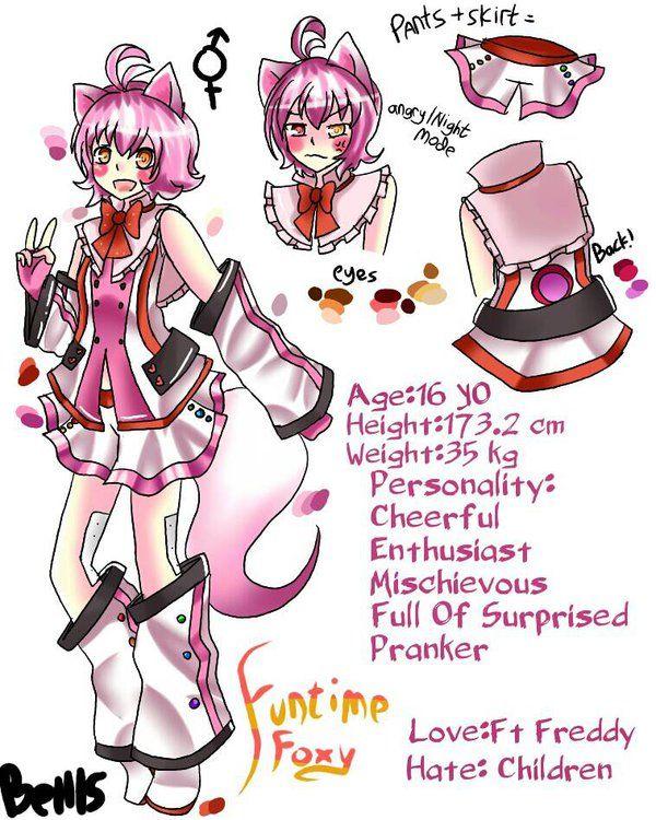 FNAF Sister Location | Funtime Foxy by Bell15Yusvita