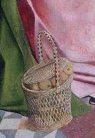 Geertgen tot Sint Jans, The holy kinship, circa 1495, Museum Boijmans Van Beuningen. detail