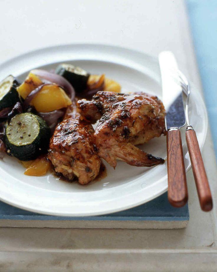 Easy Honey-Glazed Chicken Recipe   Martha Stewart