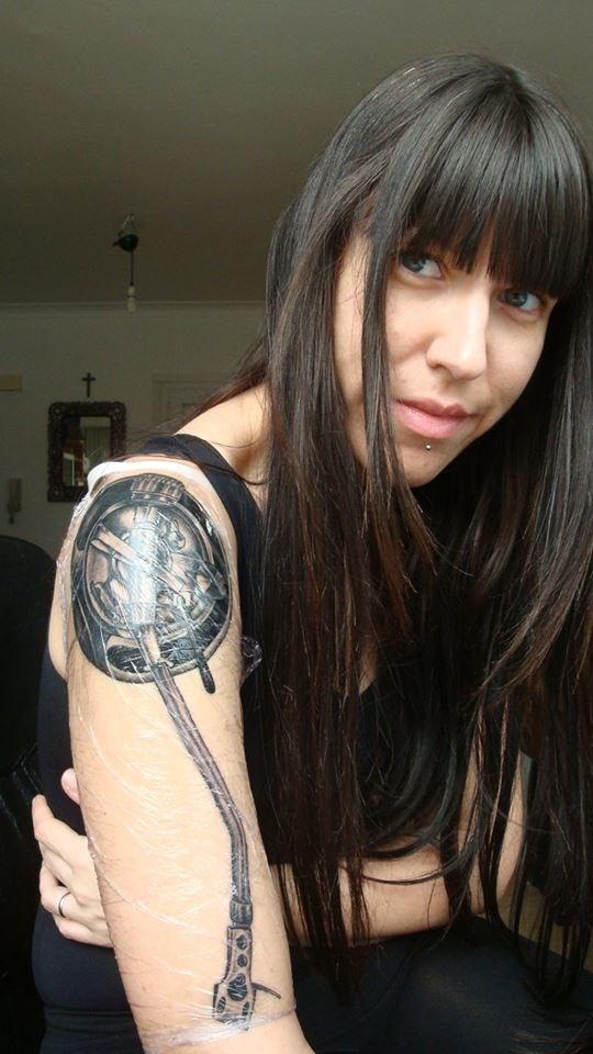 DJ tattoos #flashdjcom