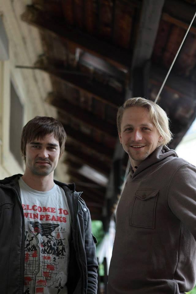 Tomáš Klus and Jiří Kučerovský