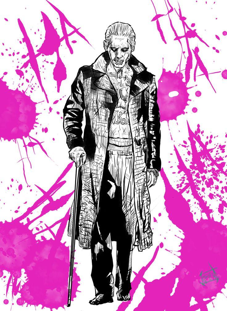 The Joker Suicide Squad print by ArtbySethHouse on Etsy