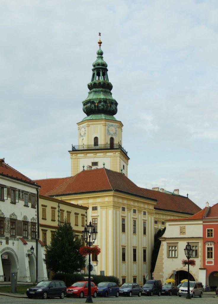 Česko, Kroměříž - Arcibiskupský zámek