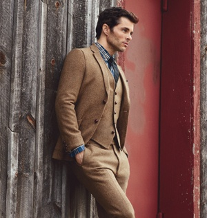 James Marsden in a brown suit | menswear | Pinterest | Brown suits ...