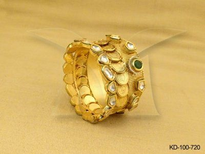12 best Antique Kada Imitation Jewellery images on Pinterest