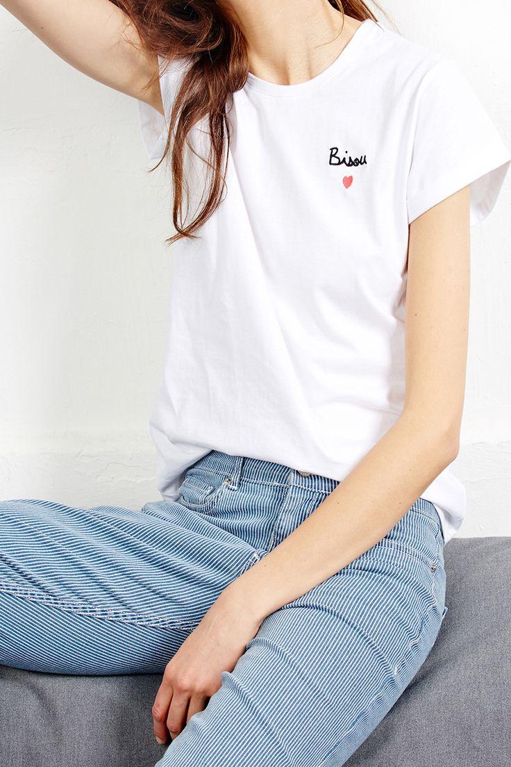 Tee-shirt bisou