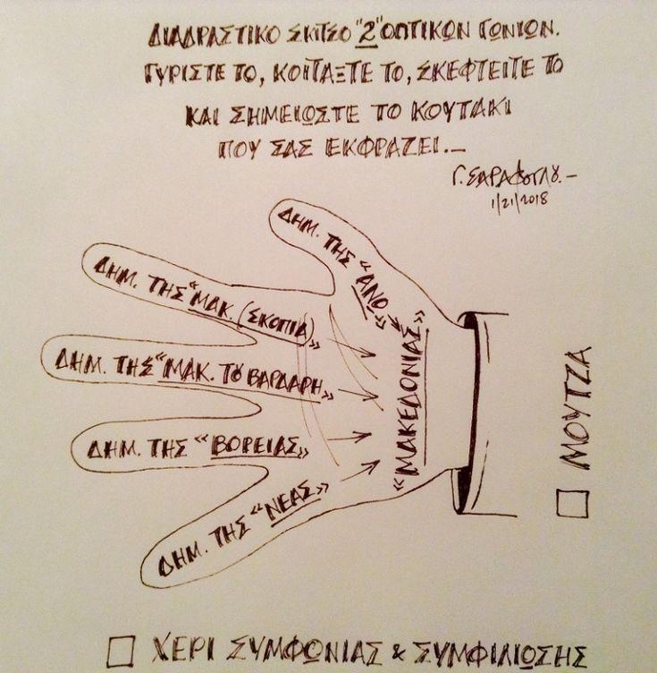 """Μόνο """"Μούντζα"""";...(Macedoine Salade, part 2), του Γιώργου Σαράφογλου"""