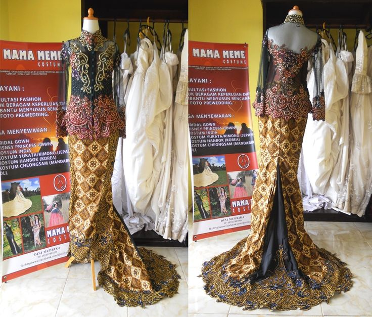 Kebaya Jelita by Mama Meme Costume