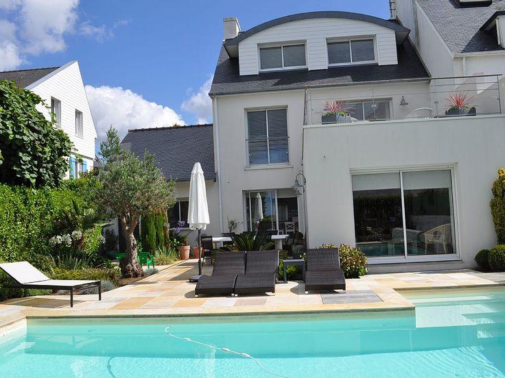 Abritel Location Maison Concarneau Vue Mer Piscine
