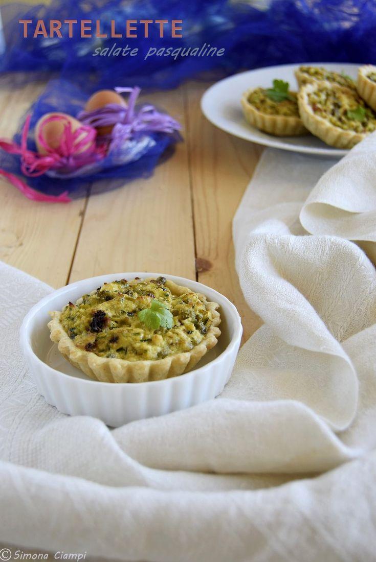 TARTELLETTA SALATE PASQUALINE -ricetta facile!  http://blog.giallozafferano.it/lapasticceramatta/tartellette-salate-pasqualine/