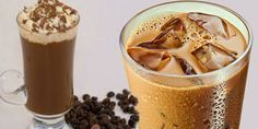 Evde Buzlu Kahve Yapımı