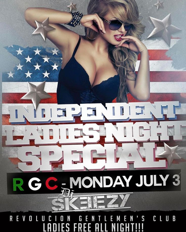 MONDAY NIGHT!!!! July 3rd - TONIGHT!!! The same people who bring you #RGC Ladies Night is bringing you the... INDEPENDENT LADIES NIGHT SPECIAL - Ladies FREE All Night!!! - #Sexy #topless #girls!!! - Special Guests - Music by #DjSkeezy  Rgc #Okinawa is located just outside of Camp Foster on HWY58 1 light after Laweson (north). Ladies Night Thursdays is the sexiest late night spot for #women and men!  Make sure to come through tonight and turn up before this long holiday weekend is over…