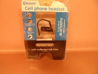 CELL PHONE HEADSET.BLUETOOTH.NEW IN PACKAGE.
