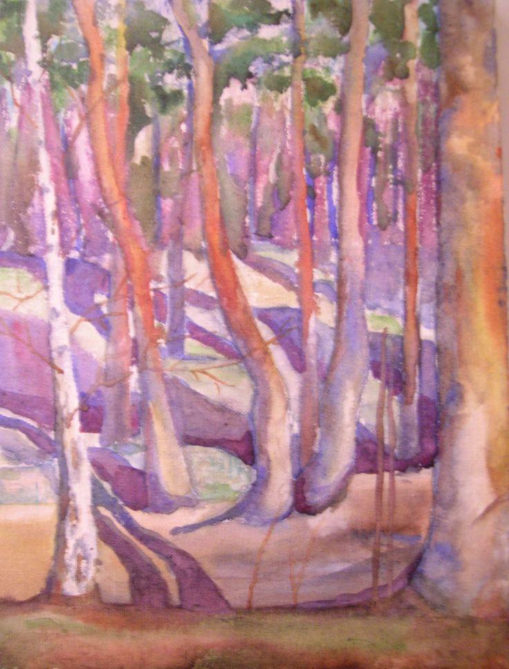 Ekebergskogen - Sissel Endresen - forest - trees