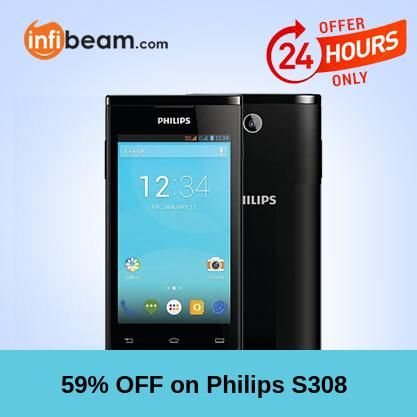 Philips S308 Smartphone at Lowest Rate from Infibeam's MagicBox !  Assuring Lowest Price in Magic Box Deals!   HURRY OFFER VALID FOR TODAY ONLY !!  #MagicBox #Deals #DealOfTheDay #Offer #Discount #LowestRates #PhilipsS308 #Electronics #Smartphones #Mobiles #AndroidMobile Philips India