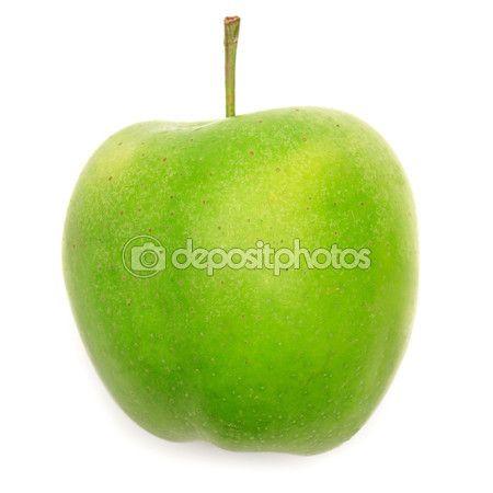 Čerstvé zelené jablko