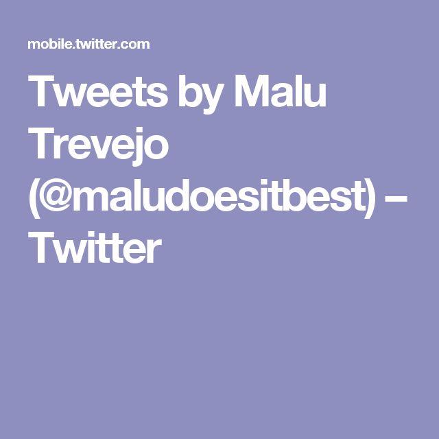 Tweets by Malu Trevejo (@maludoesitbest) – Twitter