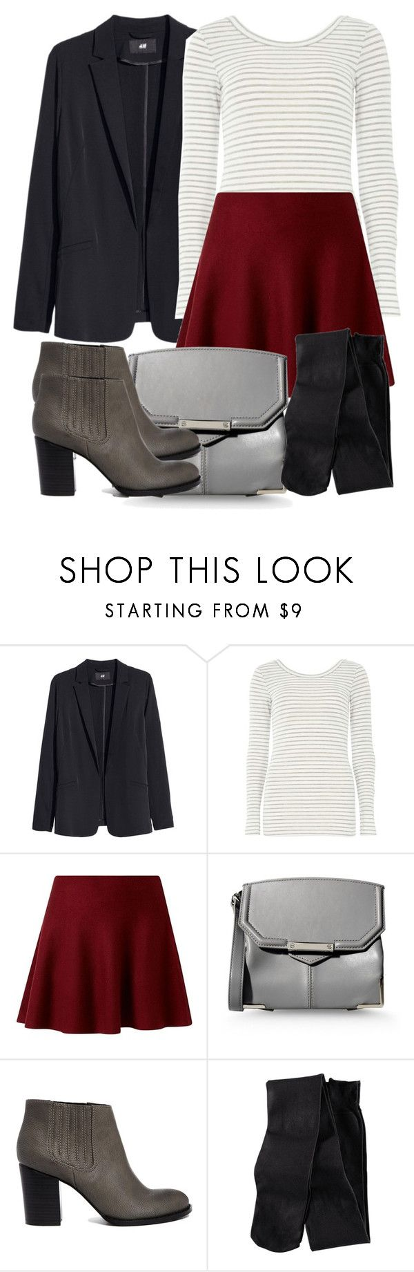 Allison Inspired UK Friendly Outfit with a Blazer by veterization on Polyvore featuring Dorothy Perkins, H&M, ASOS and Alexander Wang