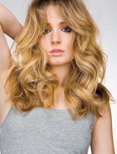 Warm Blonde Hair Color 85