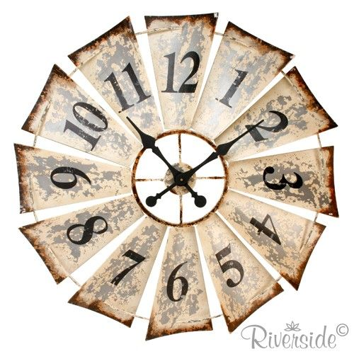 windmill clock - NUMBER CHALLENGE