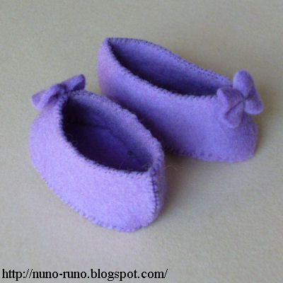 Learn How To Make Felt Doll Shoes