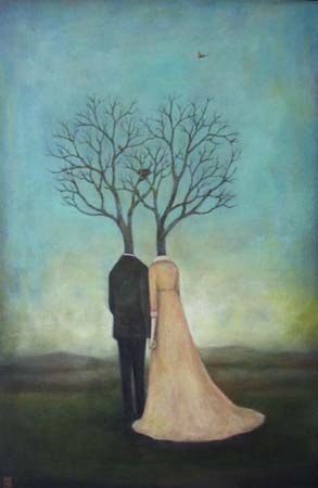 Duy Huynh -- Paintings. Matreemony & Happinest