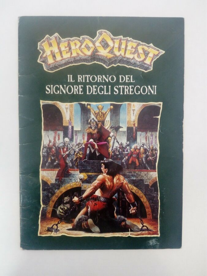Parti di Ricambio Accessori Carte Minis Hero Quest Spare Components Cards MB