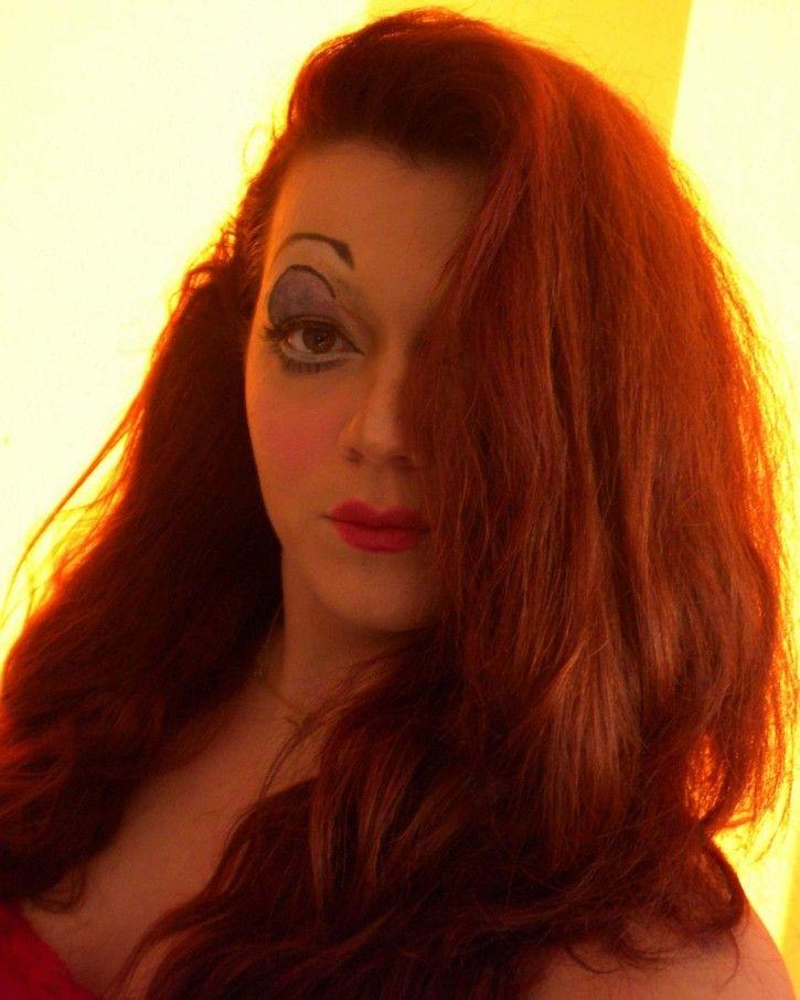Jessica rabbit make up