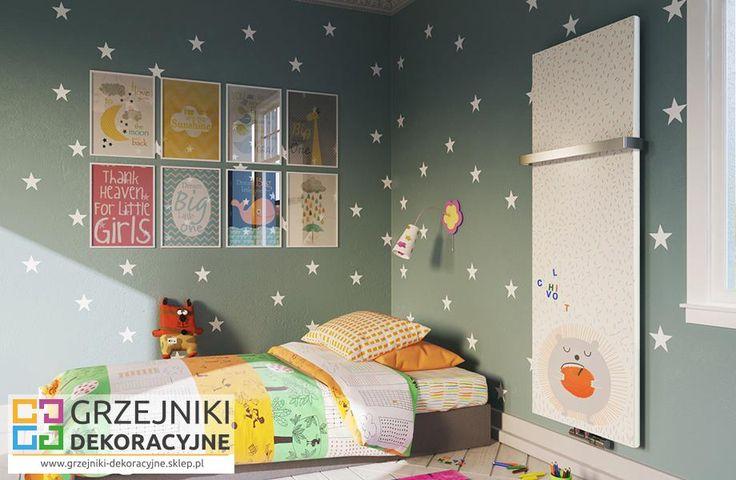 Grzejnik Terma Case Slim - w pokoju dziecięcym