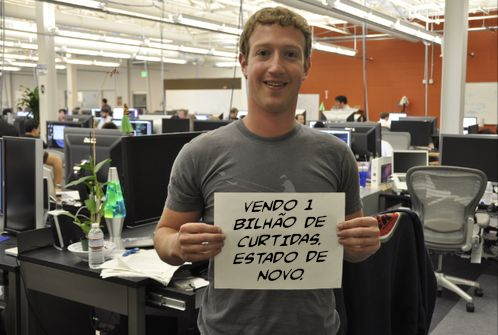 mark zuckeberg dono facebook engracado